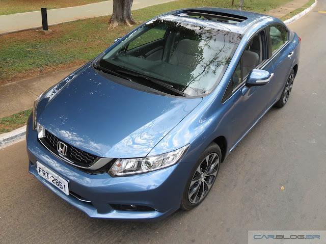 Novo Honda Civic EXR 2016 - teto solar