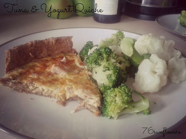 Tuna & Yogurt Quiche