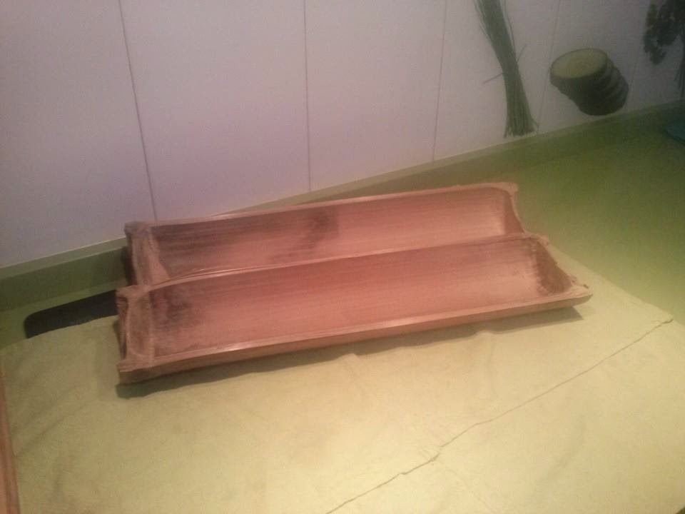 Arte y manualidades menaje de cocina hecho con bamb for Menaje cocina japonesa