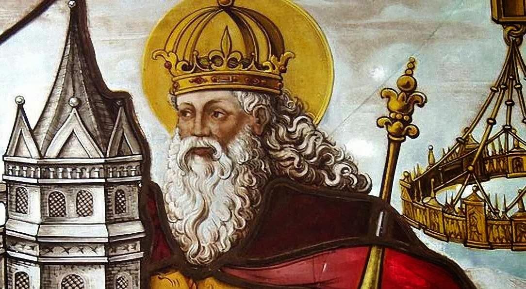 Carlomagno, alma del renacimento de la cultura e introductor de la alfabetización popular