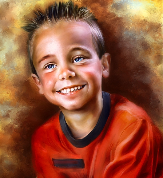 Oil Painting From Photo Software