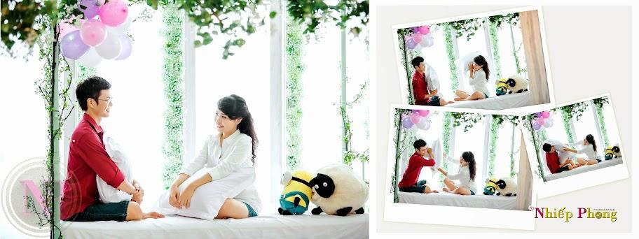 Chụp ảnh cưới Phim trường The VOW - Thực hiện Nhiếp Phong Photo