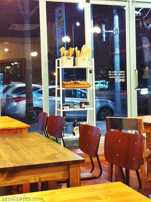 trevia italian cafe itaewon korea seoul