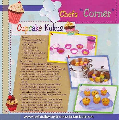 "Chefs ""Corner"" : Cupcake Kukus | Januari - Februari 2014, Steamer"