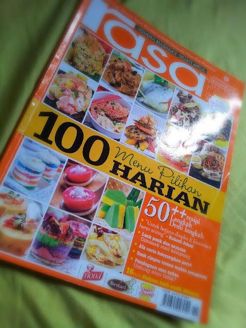 majalah rasa terbaru, majalah rasa november, resepi dari majalah rasa,