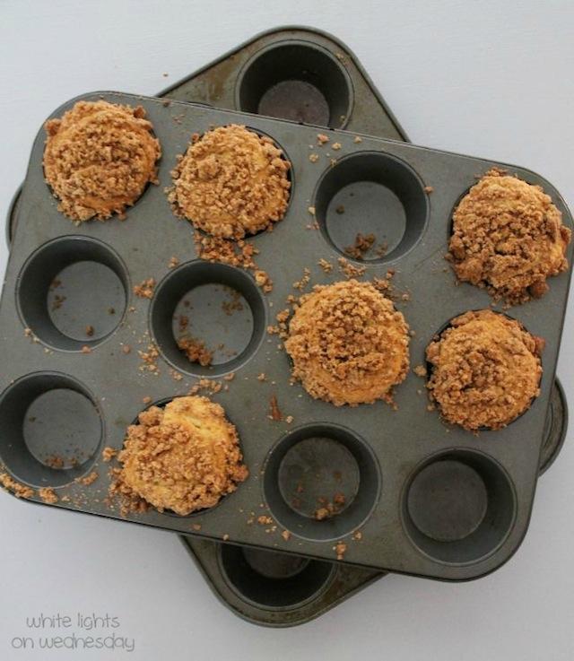 Biscoff Coffee Cake Muffins