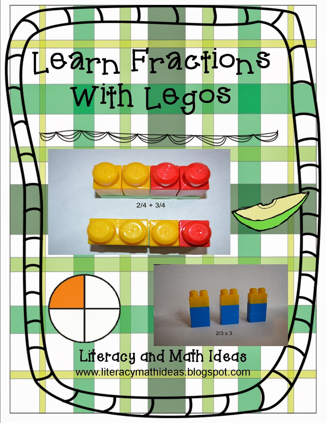 Learn Fractions With Building Blocks Or Legos Literacy & Math Ideas: Learn  Fractions With Building