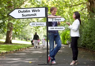 Fourth Dublin Web Summit sees throngs of tech glitterati and power brokers in Ireland's capital