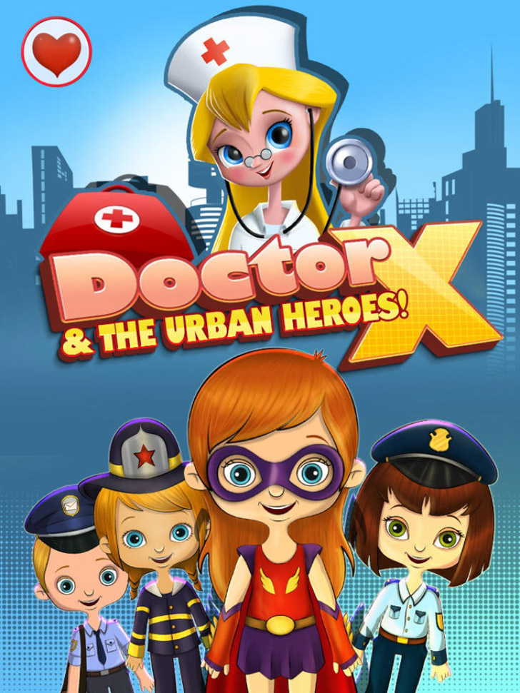 Doctor X & The Urban Heroes App iTunes App By Kids Fun Club by TabTale - FreeApps.ws