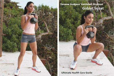 Vanessa Goblet Squat Workout
