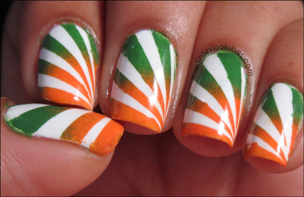 Indian Independence Day Manicure