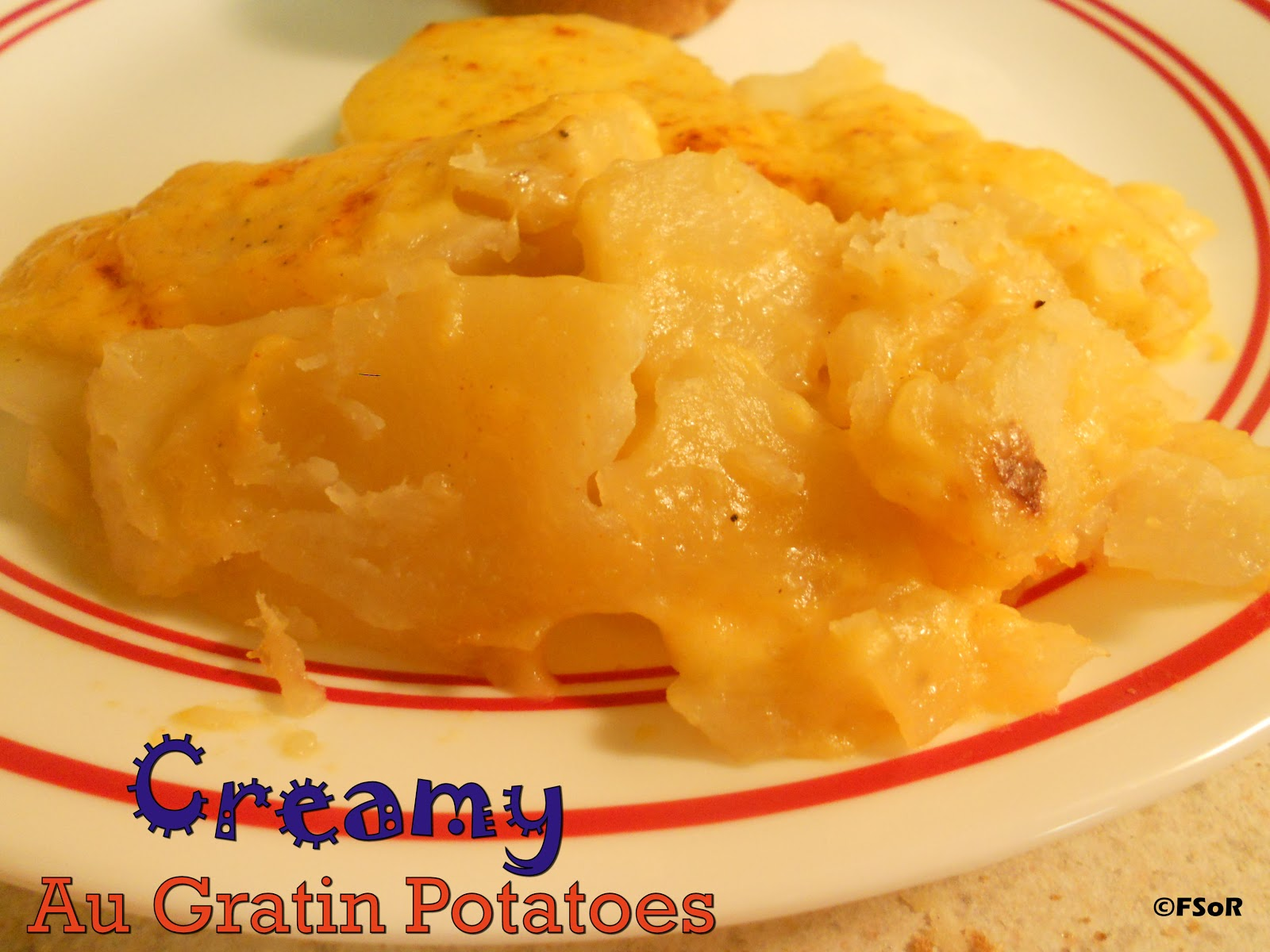 Fantastical Sharing of Recipes: Creamy Au Gratin Potatoes