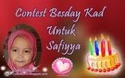 Contest Besday Kad Untuk Safiyya
