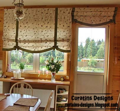10 exclusive roman shades designs for kitchen roman blinds for Roman shades for kitchen windows
