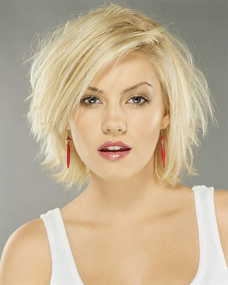 New Short Hairstyle For Thick Haircut