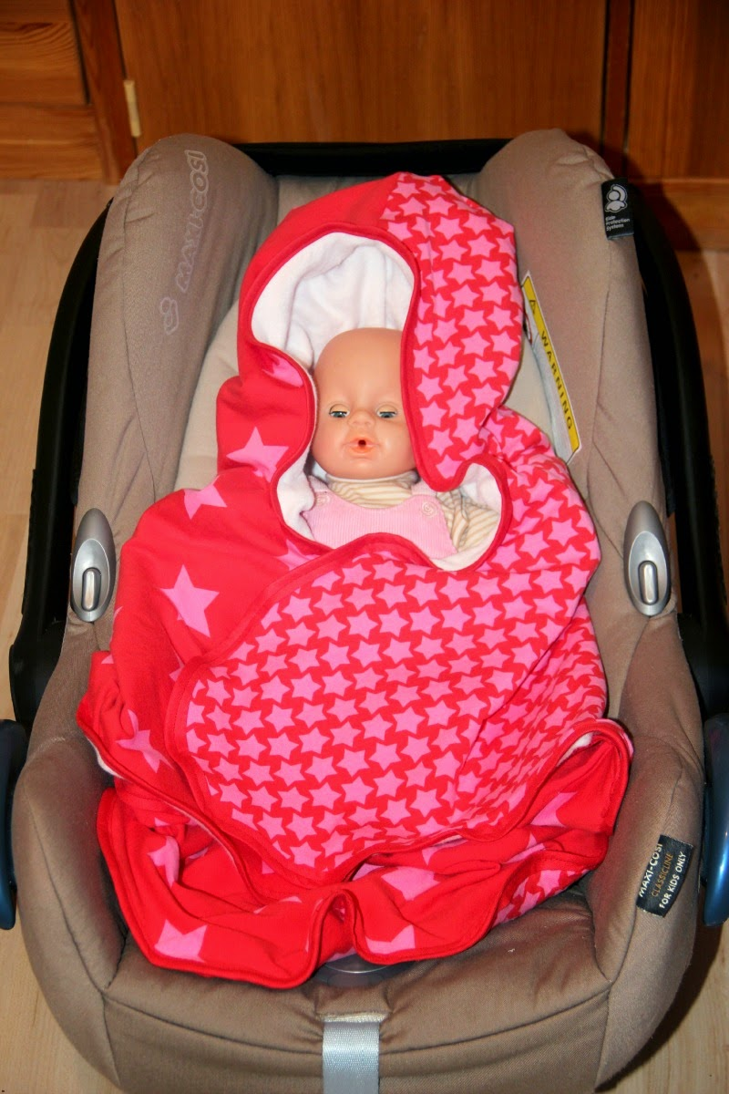 Knutselzwerg: Babydecke