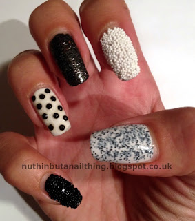 caviar manicure nails