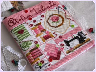 обложка  для  рукодельного  толмуда  обложка  для  тетради Atelier  Bonheur  от  Passion  Bonheur