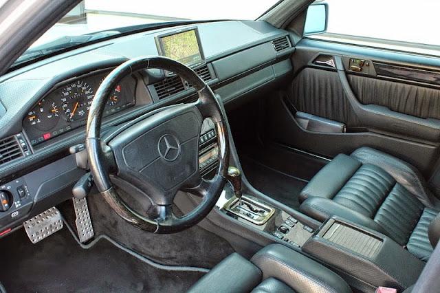w124 e500 interior