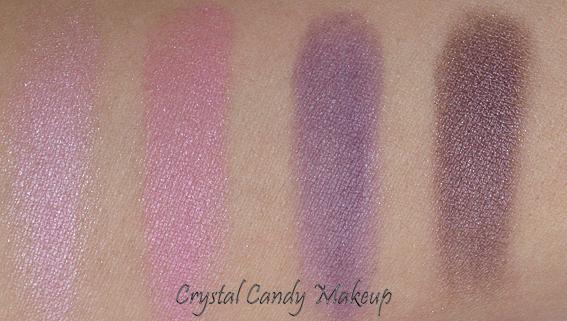 Quatuor d'ombres à paupières Ultraviolets de Marcelle
