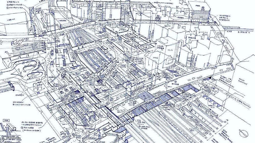 transit city urban mobile think tank tokyo c 39 est quoi une gare. Black Bedroom Furniture Sets. Home Design Ideas