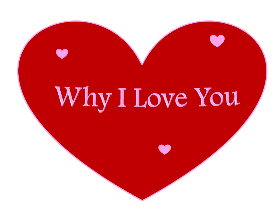 Why I Love You: Why I Love You Any Reasons