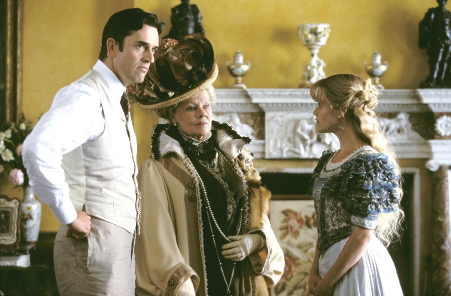 the jane austen film club the importance of being earnest  rupert everett judi dench and reese erspoon in the importance of being earnest