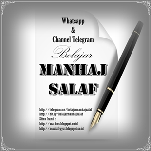 Channel Telegram & Whatsapp BMS (BELAJAR MANHAJ SALAF)