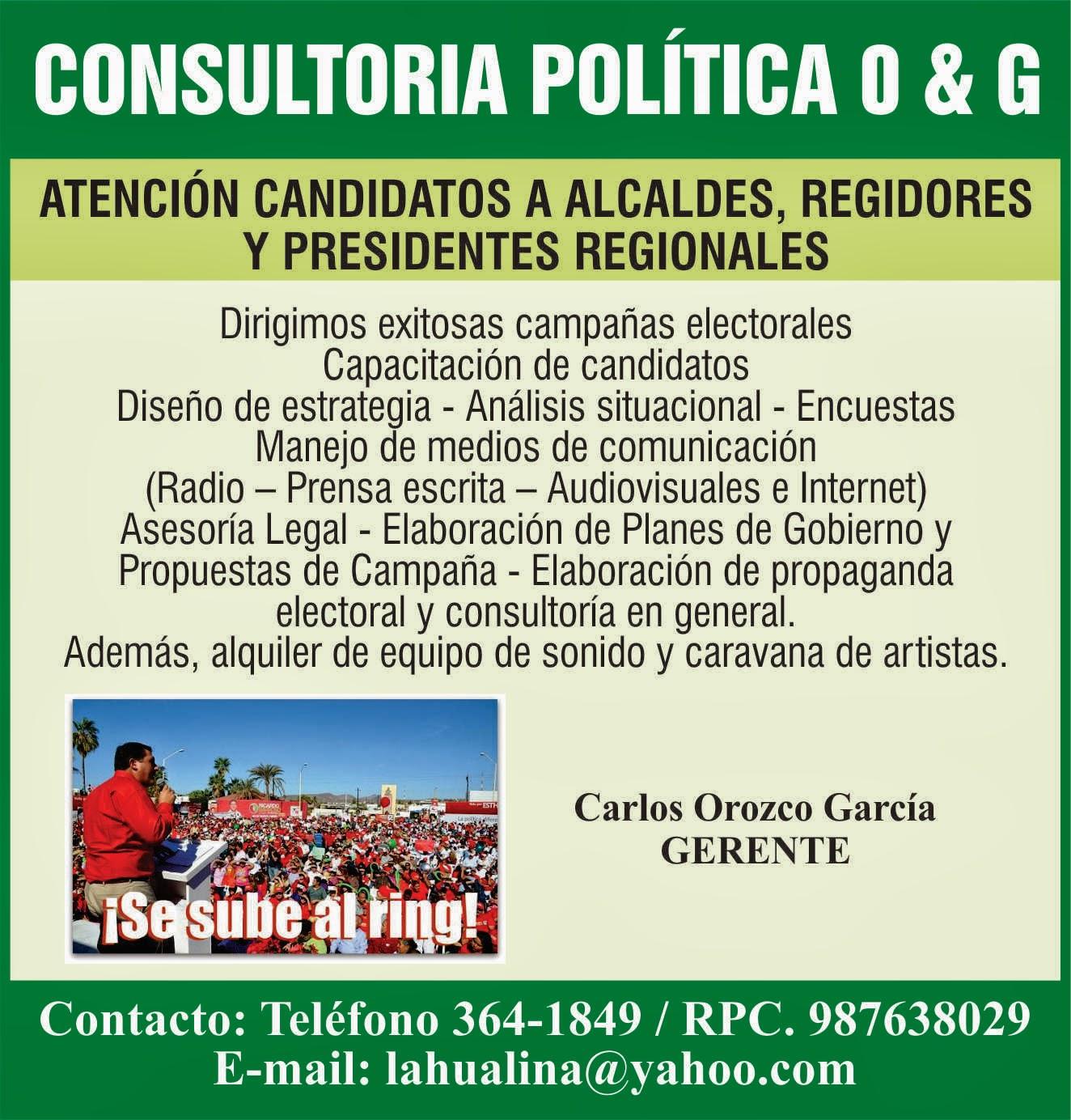 CAMPAÑA ELECTORAL 2014