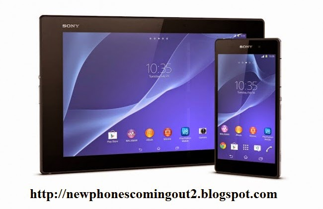 Sony Xperia Z2, a slim tablet, waterproof and powerful