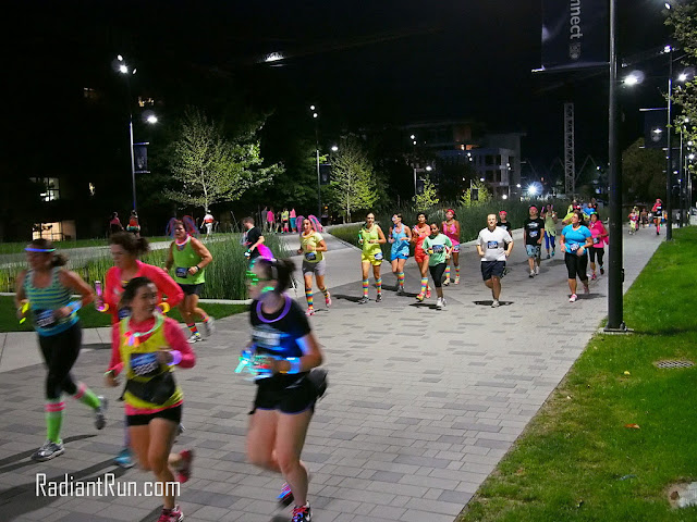 Radiantrun.com runners competing