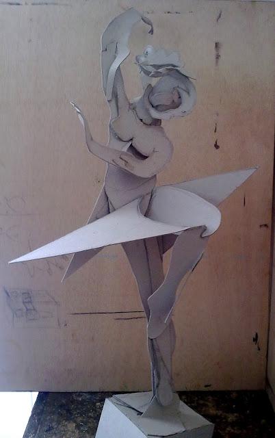 bailarina montada