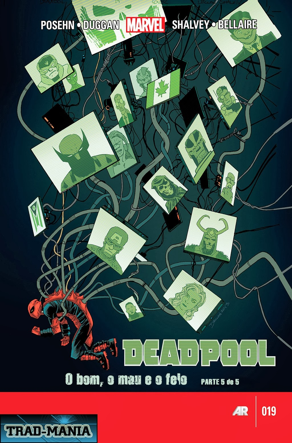 Nova Marvel! Deadpool v5 #19