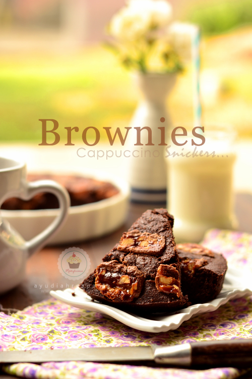 Brownies Snickers Cappuccino