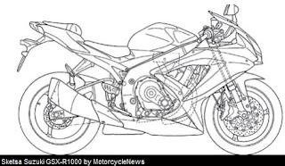 Gosip Panas... Sketsa Sosok Rival Kawasaki Ninja ZX-10R Nongol???