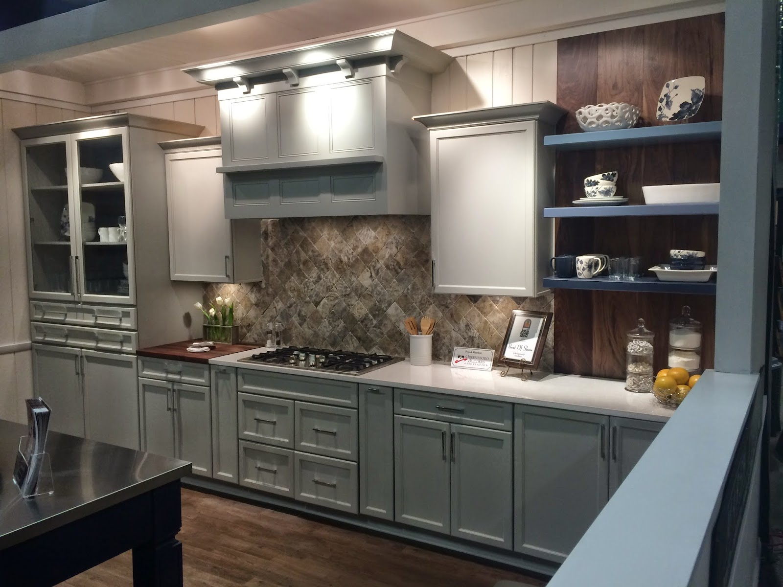 The yes weekly blog marsh kitchens wins best in show Bathroom cabinets greensboro nc