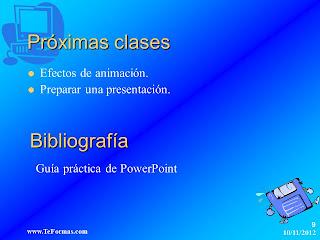 PowerPoint. Utilizar patrones de diapositivas