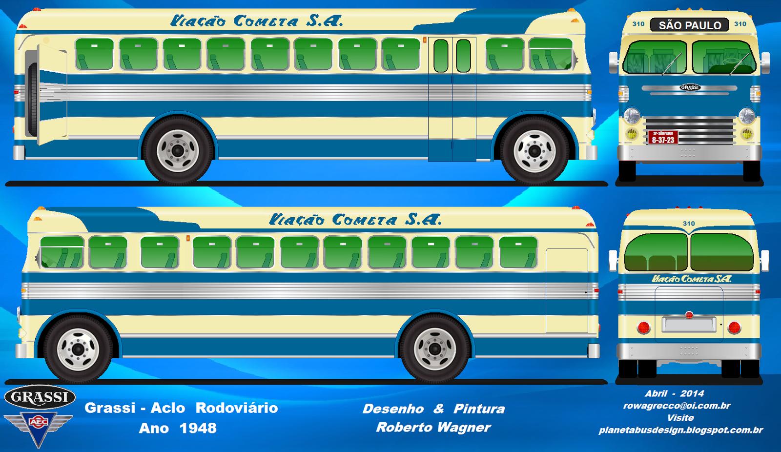 Planeta Bus Design