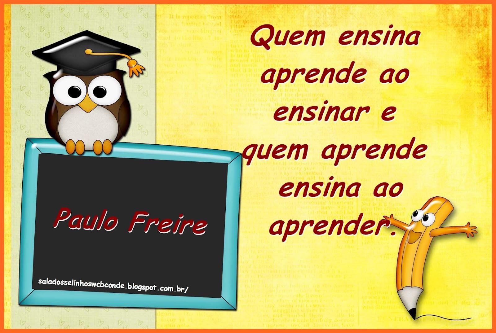 Tag Frases Sobre Educação Paulo Freire