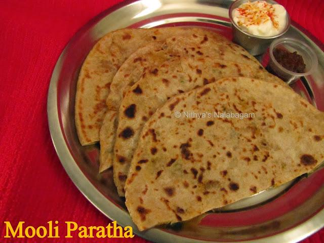 Mooli ka Paratha | Radish Paratha