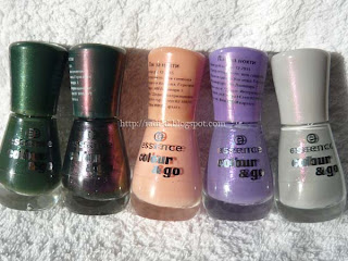 Essence colour&go new polishes