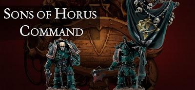 Grupo de mando de lo Hijos de Horus