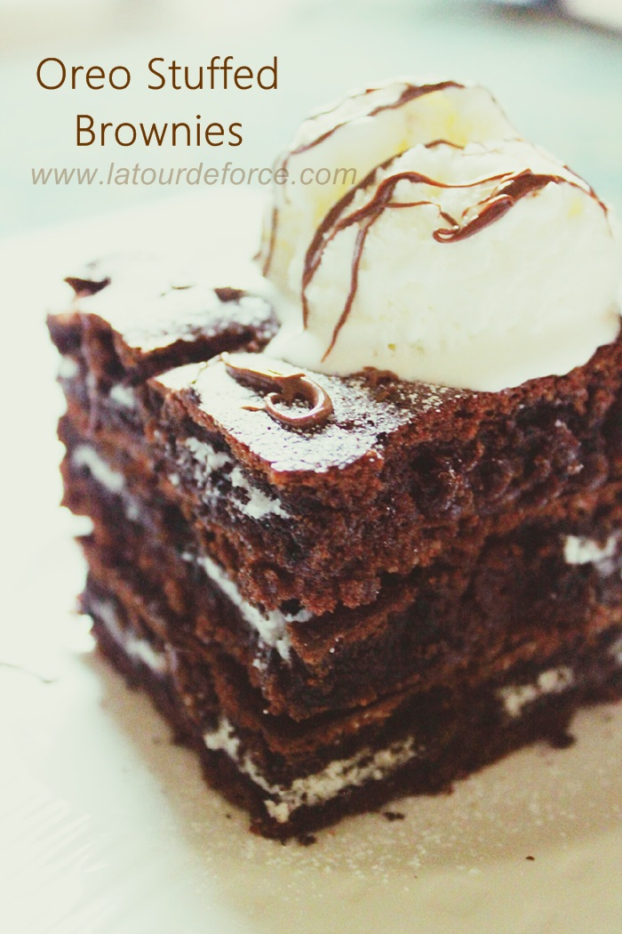 Simply Sweet 'n Savory: Oreo Stuffed Brownies : Guest Post from Aiza ...