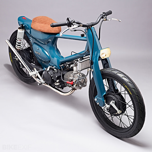 CUSTOM SUPER CUB RACER| SALT SHAKER | SUPER MOTOR COMPANY 