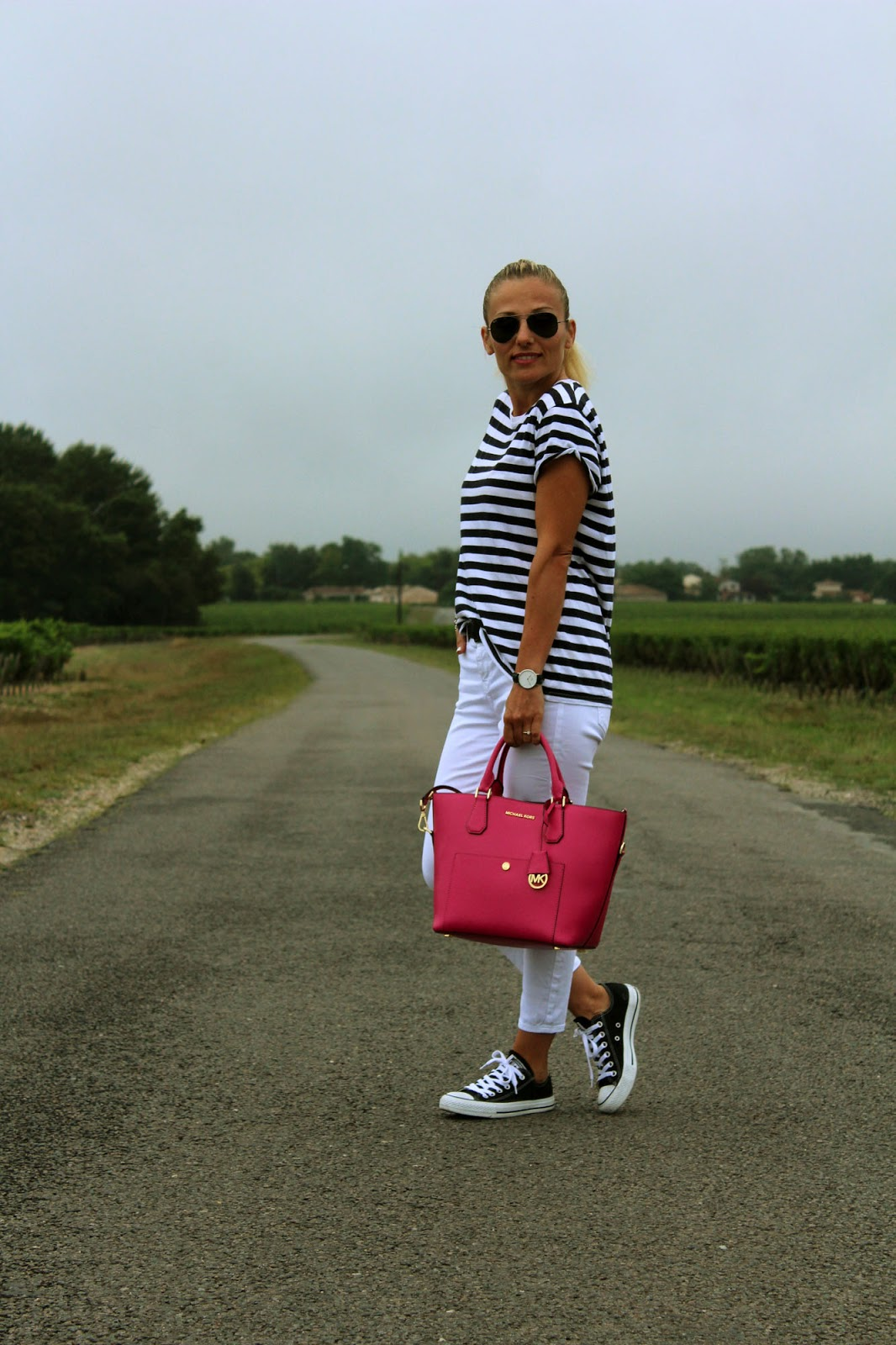Eniwhere Fashion - Médoc- Stripes shirt and wines