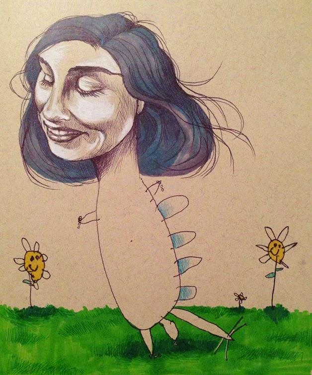 desenhos, ilustrações, BK, Vanessa Vieira, pais e filhos