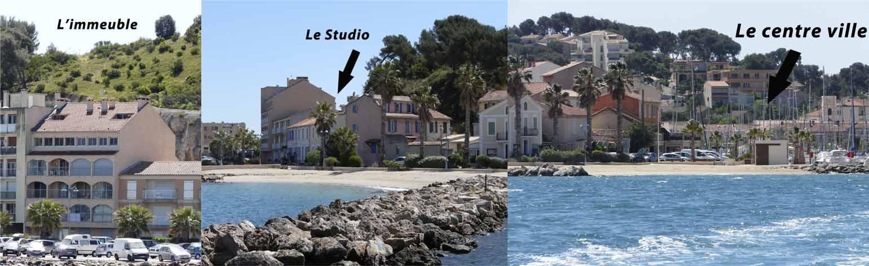 Studio location saisonni re c te d 39 azur saint mandrier petit prix situation - Office de tourisme saint mandrier ...