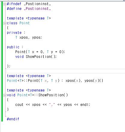 Kingpark: C++ 템플릿 사용시 error LNK2019