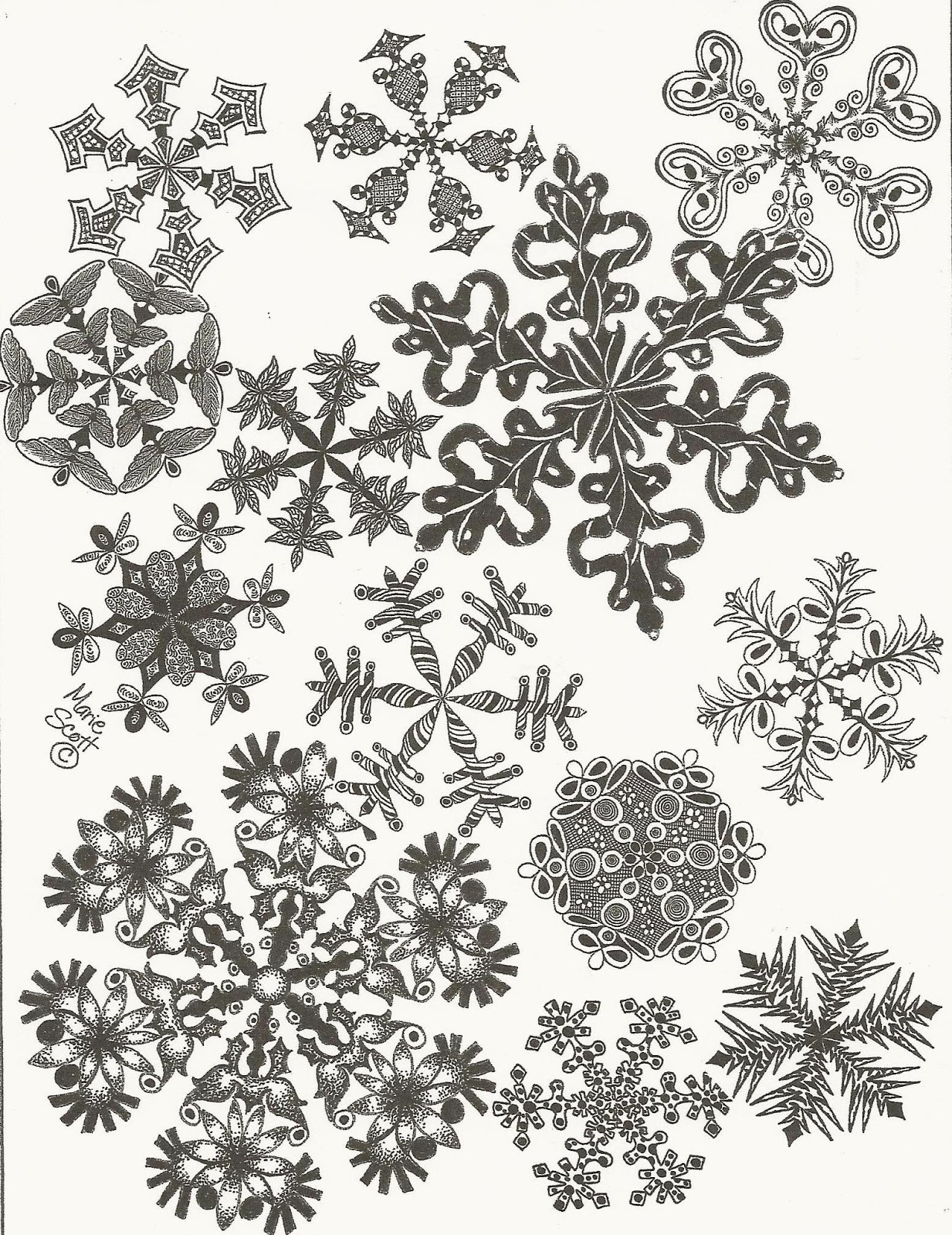 Uncategorized Draw Snowflakes pikadilly charm how to draw snowflakes snowflakes