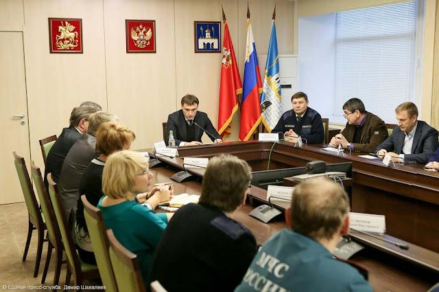 Угроза падения башенного крана на Московском шоссе в Сергиевом Посаде полностью ликвидирована.